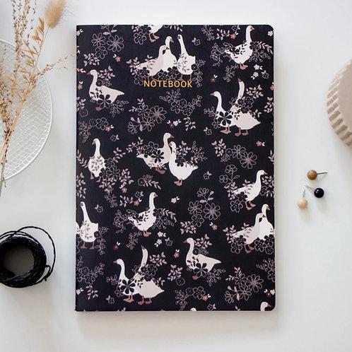 Farm Geese notebook