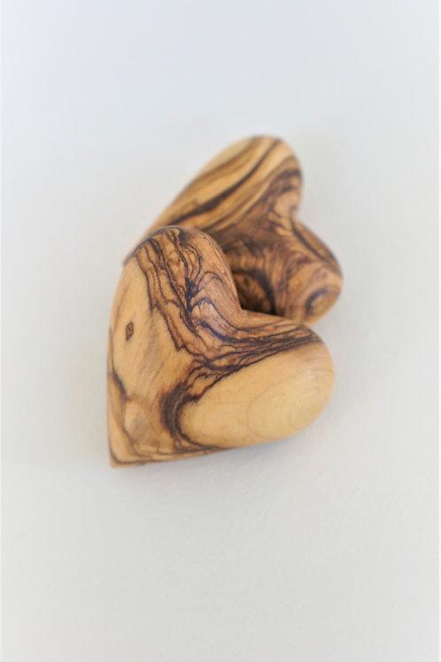 לב מעץ זית