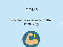 DOMS - Muscle soreness