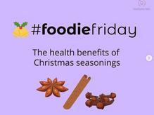 #foodiefriday Christmas seasonings