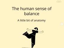 Vestibular System - the human sense of balance