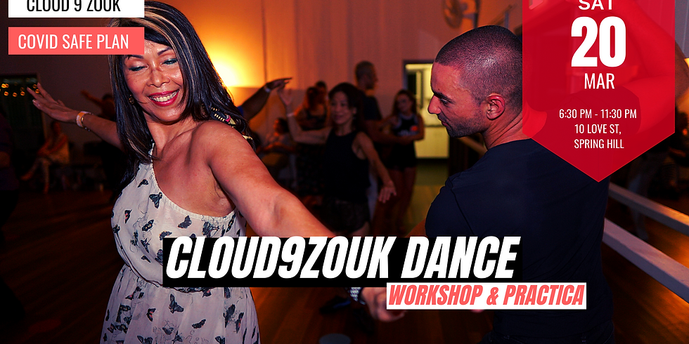 Cloud 9 Zouk Recreational Dance | 20th Mar