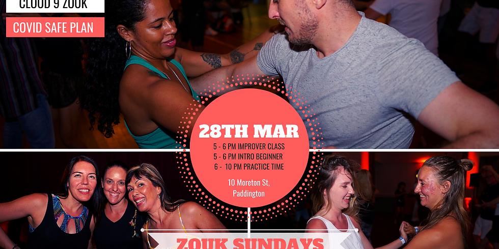 Zouk Sundays & Practica | 28th Mar