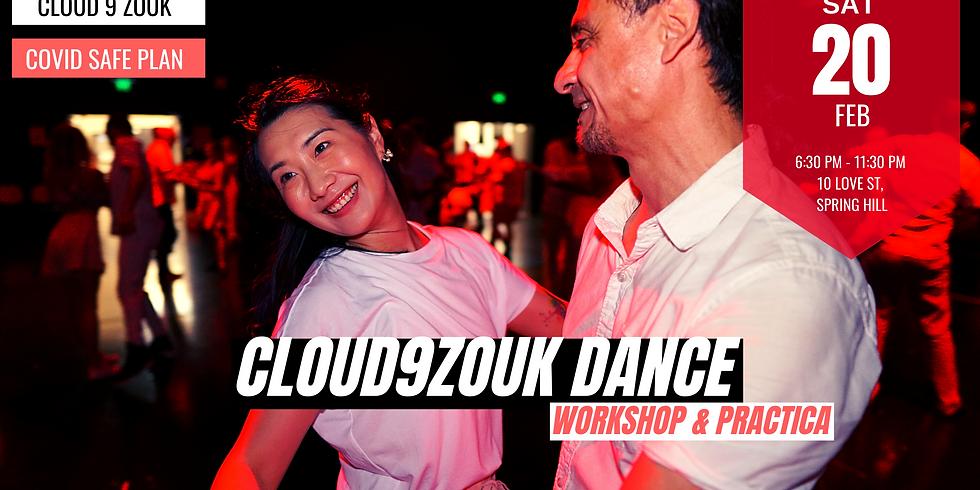 Cloud 9 Zouk Recreational Dance | 20th Feb