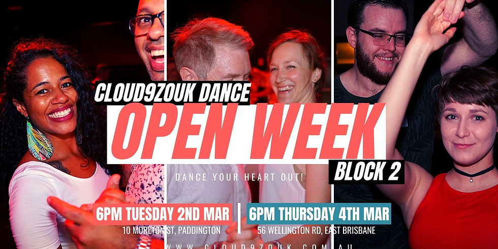 Open Week B2 Southside | Thur 4th Mar