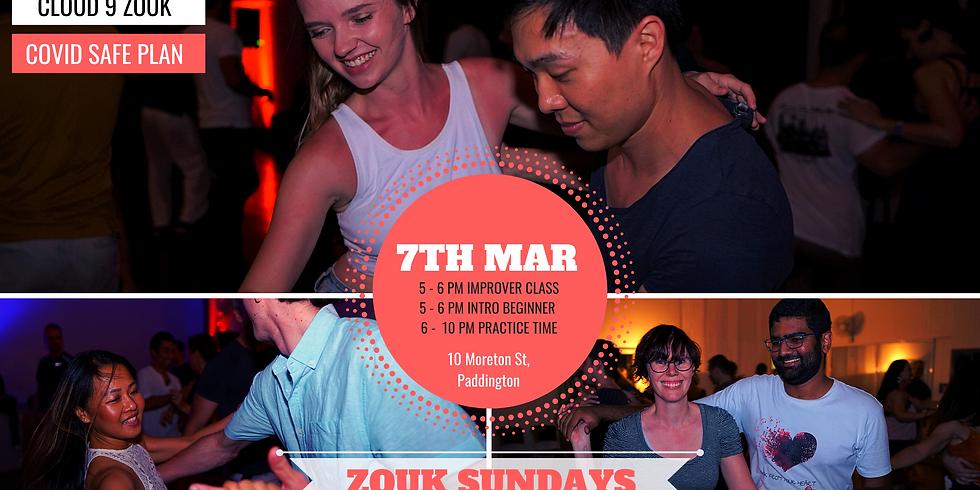 Zouk Sundays & Practica | 7th Mar