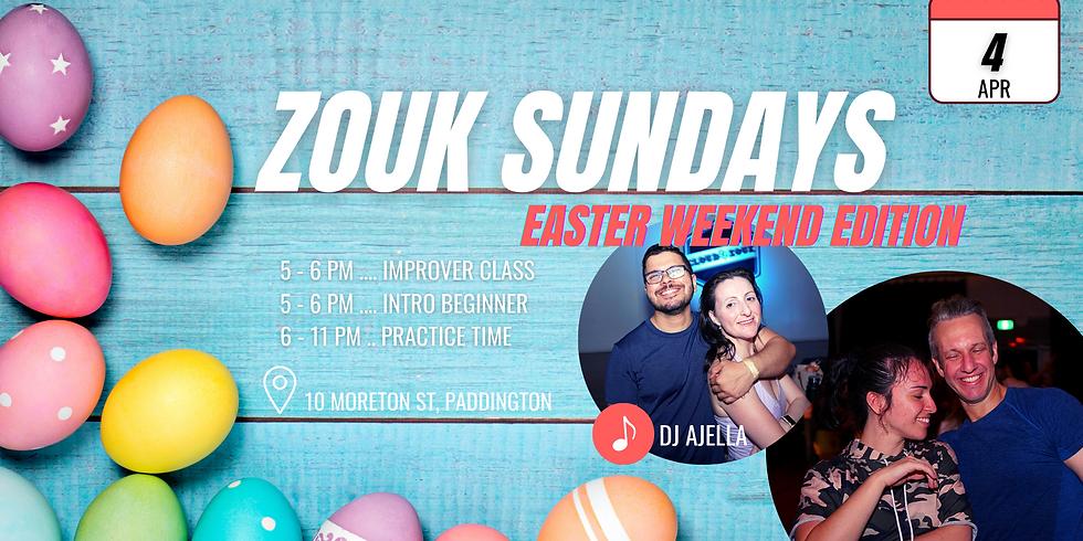 Zouk Sundays & Practica | Easter Weekend Edition