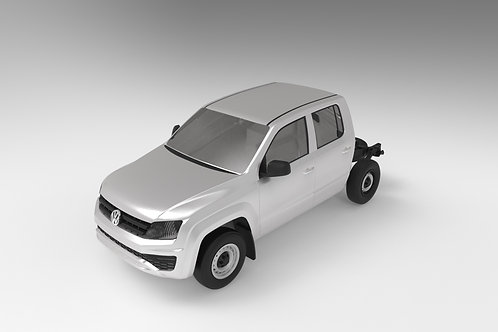 2017 VW Amarok Dual Cab Chassis