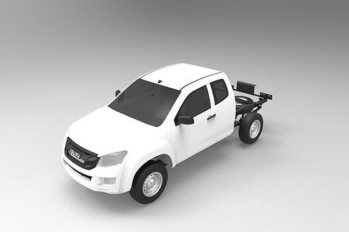 2016 Isuzu DMax Space Cab