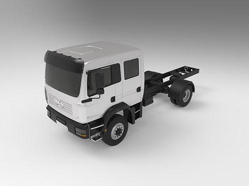 MAN Dual Cab Truck 4x4 TGM 13.250 4x4 BL