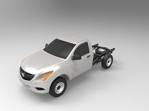2016 Mazda BT-50 Single Cab