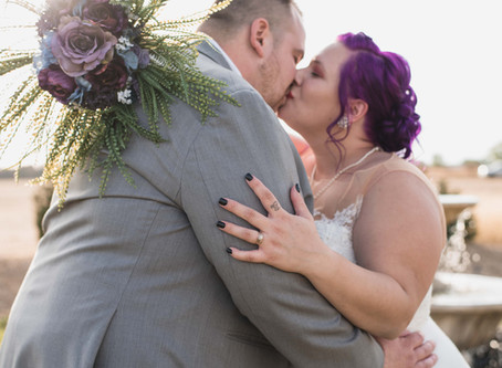 White Diamond Lavender Farm Fall Wedding