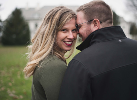 January Engagement Session at Newfields