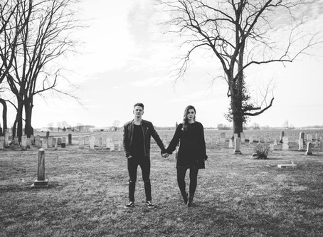 Haunted Love in a Cemetary