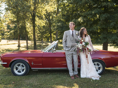 Gorgeous Fall Wedding at Laural Mill