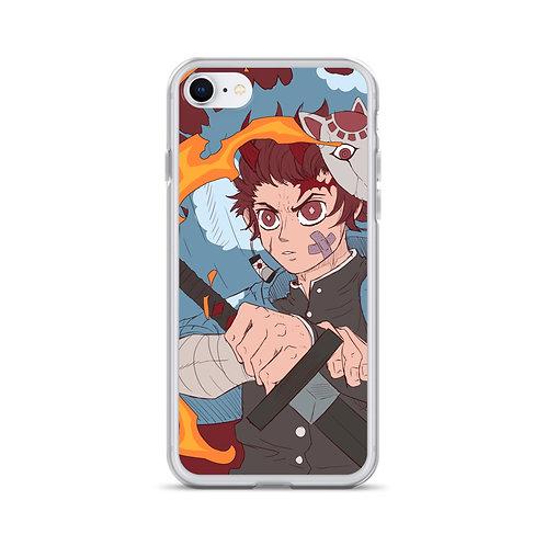 Tanjiro (Full Image) iPhone Case