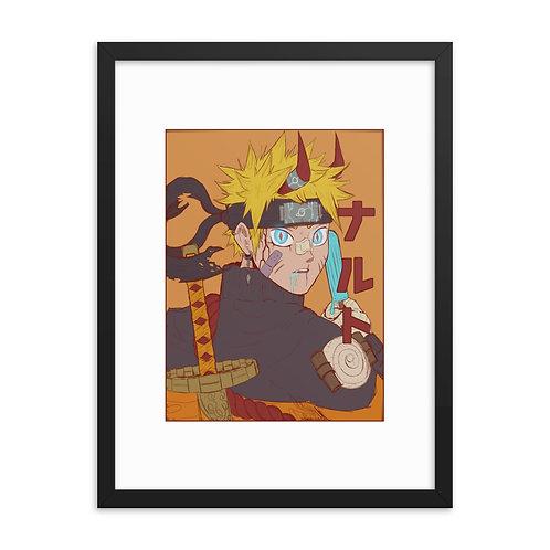 Naruto Framed poster