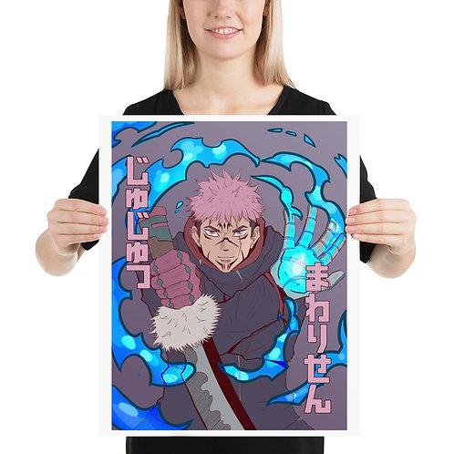 Itadori, Jujutsu Kaisen, Poster