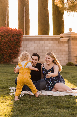 Family maternity session at Majestic Hills Park in Henderson, NV