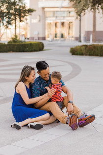 Modern family photography with personality