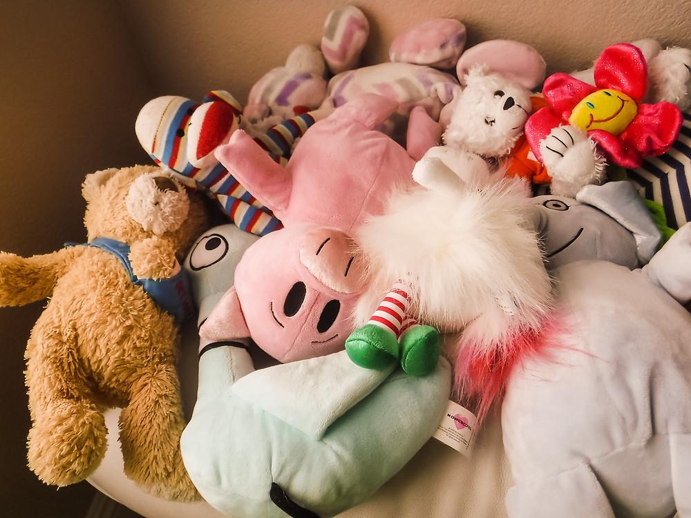 So many stuffed animals