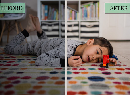 Before & After Editing: Indoor Photos from my 365 Project | Las Vegas Lifestyle Family Photography