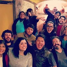 Allievi di canto del Conservatorio di Sucre - Bolivia