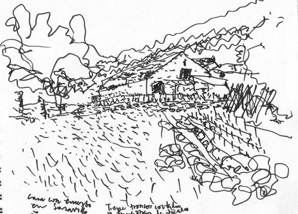 Farmer house, Pirineos