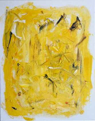 Composition in yellow.