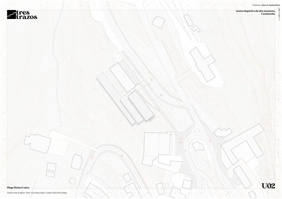 plano de emplazamiento / urban plan
