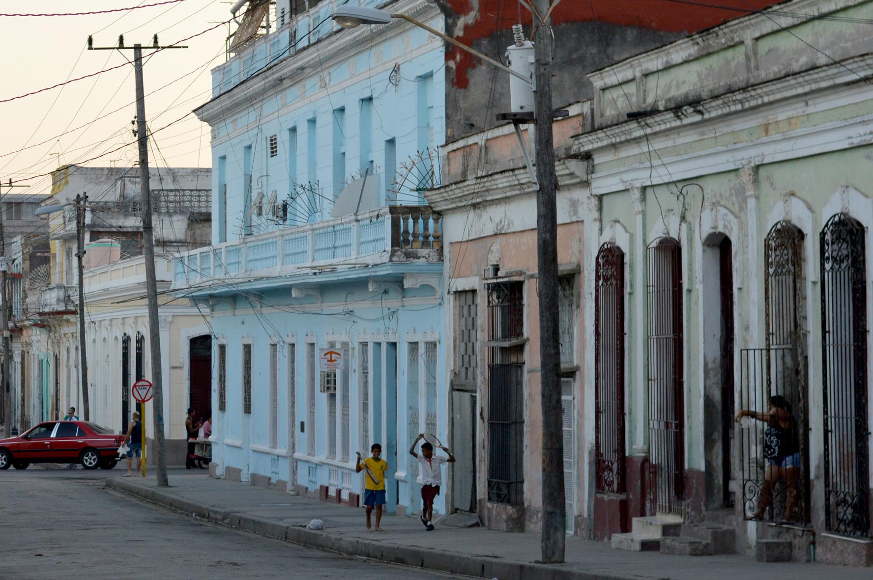 Home-time Cienfuegos