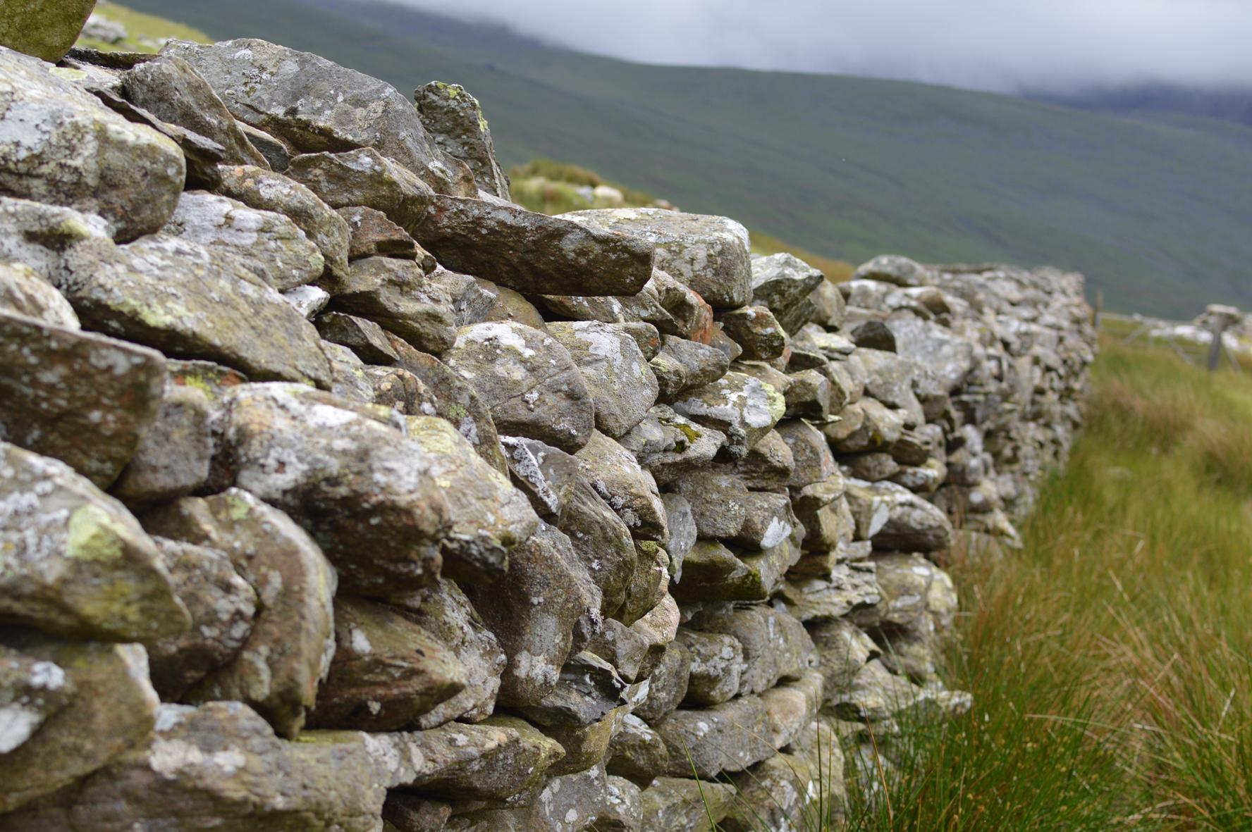 Stone Wall, Snowdonia