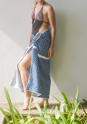 Diamond Dot Print Sarong
