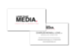 Love That Media business card managing director