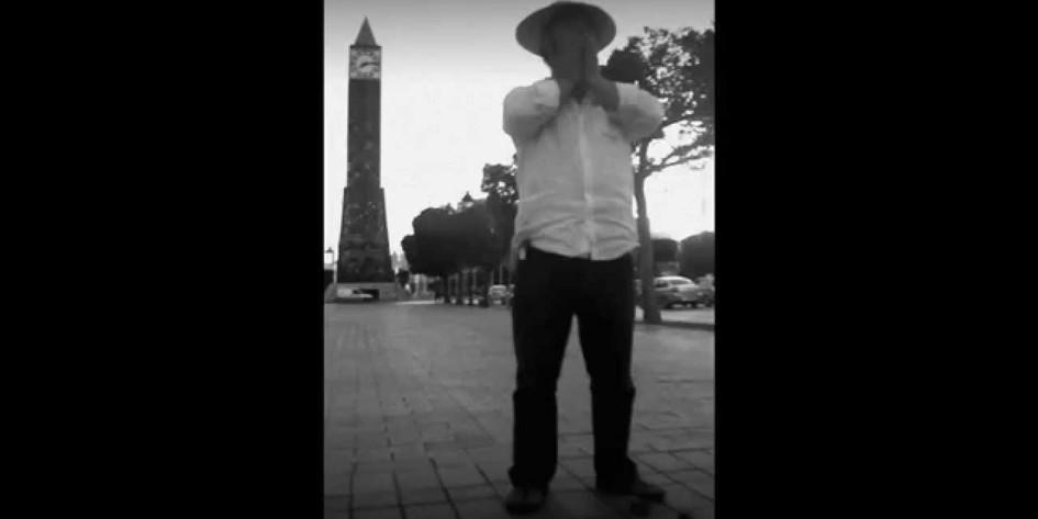 La Rue de la Barbe. (The Street of Beards) Pete Codling. 2 minutes. Filmed on Avenue Habib Bourguiba Tunisia. 2012.