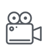 video and production icon