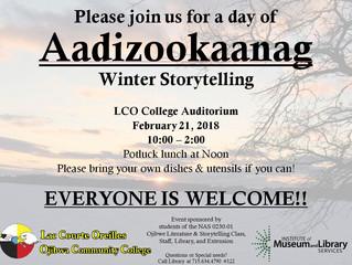 Winter Storytelling