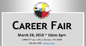Career Fair March 29th
