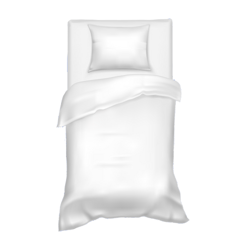 Twin Bed Sheets with Pillow Case