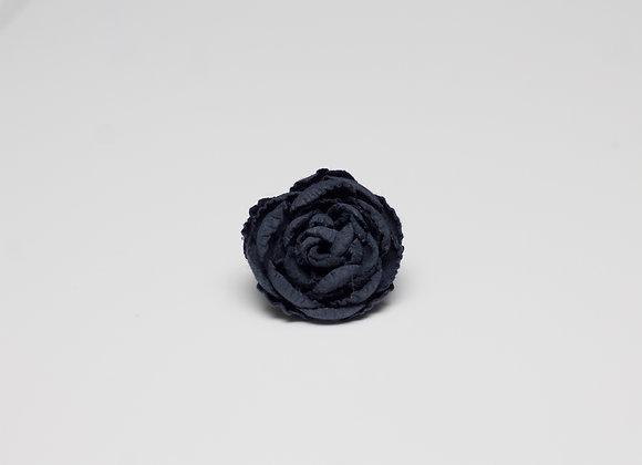Medium Oxford Blue Flower Pin