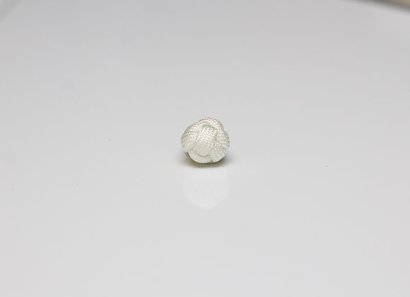 White Knot Pin