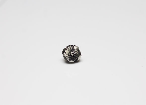 Black & White Knot Pin