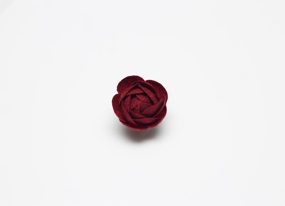 Large Red Flower Pin