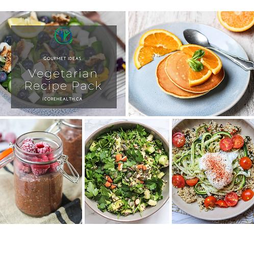 Vegetarian Recipe Pack
