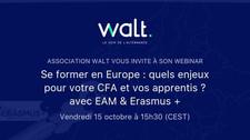 """""""Se former en Europe : quels enjeux pour les apprentis ?"""" le 15 octobre à 15h30"""