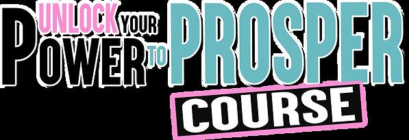 Unlock Your Power to Prosper Course Logo