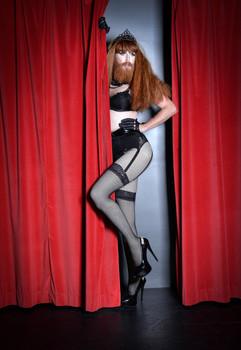 Behind The Velvet Curtain