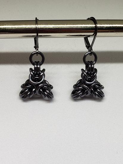 Spiky Byzantine Earrings