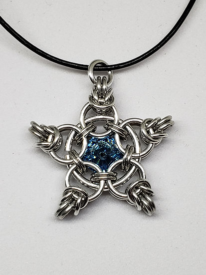5-Pointed Star Pendant-Small