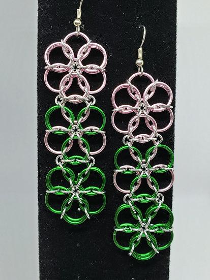 Triple Borealis Earrings